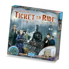 Relive the early steps of Train History with Ticket to Ride Map Collection 5 – United Kingdom! « Days of Wonder News Center