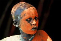 The Painted people of the Surma and Mursi tribes in Southern Ethiopia - Photos by Hans Silvester