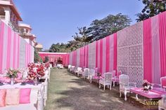 Picture from Aroosi Photo Gallery on WedMeGood. Browse more such photos & get inspiration for your wedding Wedding Hall Decorations, Engagement Decorations, Flower Decorations, Plan Your Wedding, Dream Wedding, Wedding Ideas, Wedding Scene, Concrete Garden, Mehendi