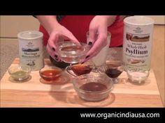 Learn to make festive Holiday Cacao Mousse featuring ORGANIC INDIA Organic Moringa Powder and Organic Whole Husk Psyllium