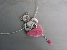Medvědí sezení Pendant Necklace, Jewelry, Fashion, Moda, Jewlery, Jewerly, Fashion Styles, Schmuck, Jewels