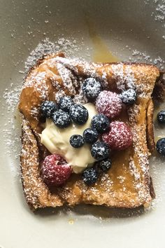Tray Baked French Toast With Yuzu Curd - Cook Republic