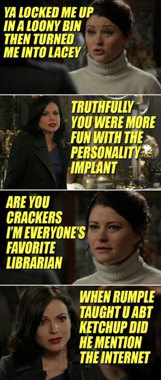 Once Upon A Time 3x18 Lily Sparks edits, because these are accurate and hilarious