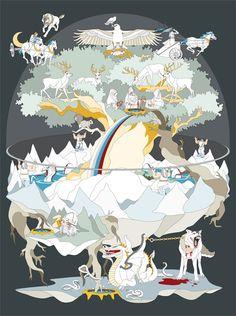 Yggdrasill Viking People, Eslava, Tableaux Vivants, Asgard, Viking Reenactment, Pagan Art, Elder Futhark, Norse Vikings, Viking Warrior
