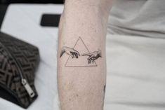 P Tattoo, God Tattoos, Line Art Tattoos, Body Art Tattoos, Sleeve Tattoos, Small Tattoos For Guys, Small Wrist Tattoos, Cool Forearm Tattoos, Aesthetic Tattoo