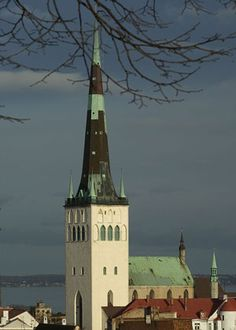 Церковь Олевисте. #Tallinn. St. Olav's Church is named after the Norwegian king Olav II Haraldsson - Baptist Norway (995-1030), later declared the patron saint of Norway, it is revered as the patron saint of sailors.