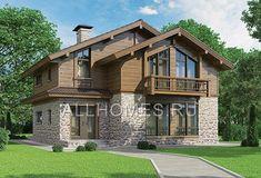 """Проект небольшого дома в стиле """"шале"""" K-215-1P"""