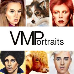 Visit www.vmportraits.co.uk - check out my portrait portfolio and all the services I offer ☺️🎨  #artist #portraits #artwork