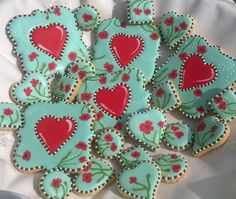 Poppy Hearts   Cookie Connection