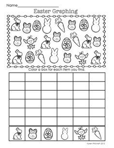 spring pattern worksheets - Google Search