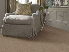 "Carpeting in the Caress Collection style ""Angora III"" color Finn - by Shaw Floors"