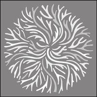 The Coral stencil - price £17.95