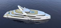 Bannenberg & Rowell Designs a 57.91m Superyacht