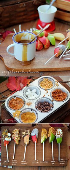 How Fun!! Set Up A DIY Caramel Apple Bar, The Best Reason To Welcome Fall