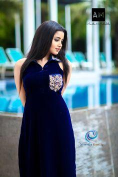 Actress Anupama Parameswaran in Blue Gown Photoshoot Beautiful Girl Indian, Beautiful Girl Image, Beautiful Indian Actress, How To Feel Beautiful, Beautiful Actresses, Beautiful Pictures, Beautiful Women, Photos Hd, Gown Photos