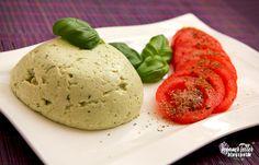 Veganer Teller - Vegan kochen und backen - Vegane Rezepte: Basilikum-Mozzarella   VEGAN  