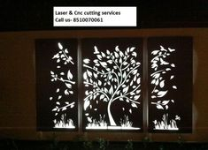 We provide all kind of Laser and CNC cutting work on these product Mdf metal steel Stainless Acrylic tree Aluminium Corian Brass wood stone … – ELEVATION Laser Cut Screens, Laser Cut Panels, Metal Panels, Gate Design, Wood Design, Tree Designs, Wall Art Designs, Diy Framed Wall Art, Front Elevation Designs
