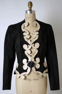 Elsa Schiaparelli jacket ca. 1938 via The Costume Institute of the Metropolitan Museum of Art
