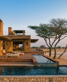 Onguma Fort, Namibia - book through i-escape.com