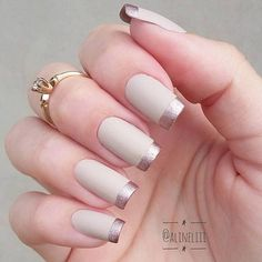 50 Awesome French Tip Nails to Bring Another Dimension to Your Manicure nageldesign french 50 Awesome French Tip Nails to Bring Another Dimension to Your Manicure Classy Nails, Stylish Nails, Cute Nails, Pretty Nails, French Nails, Nagel Hacks, Nagel Gel, Perfect Nails, Manicure And Pedicure