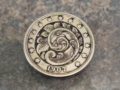 Hand Engraved Hobo Nickel by Jack on Etsy, $58.00