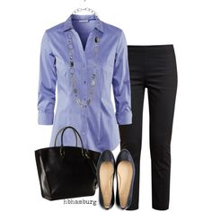 """""""No. 275 - Simple Office Outfit"""" by hbhamburg on Polyvore"""
