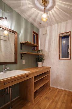 Scandinavian Design, Bathroom Vanity, Toilet And Bathroom Design, Rustic House, Bathroom Decor, Japanese House, Bathroom Design Decor, House, Bathroom Sets