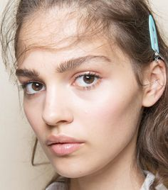 How to Achieve the Full, Brushed-Up Brows Seen on Every Runway via @ByrdieBeauty