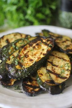 Clean Eating Lemon Garlic Grilled Zucchini -Simple & Delicious, With Flavor Bursting in Every Bite!