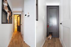 室内小窓・キャットスルー付きリビングドア