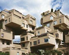 Arquitecto Safdie e Arquitectura Moderna