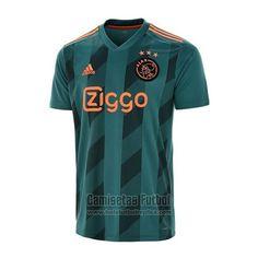 Tailandia Camiseta Ajax Segunda 2019-2020 | futbol replicas Sports Jersey Design, Football Design, Football Kits, Adidas Football, Football Jerseys, Afc Ajax, Neymar, Sports Shirts, Active Wear