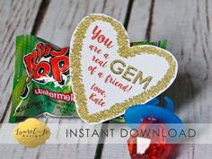 Your place to buy and sell all things handmade Valentine Day Kiss, Valentines Day Treats, Teacher Valentine, Holiday Treats, Teacher Gifts, Valentine Gifts, Class Christmas Gifts, Christmas Ideas, Valintines Day