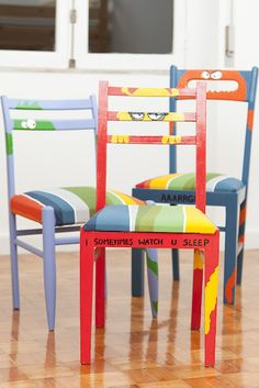 POP Monster Chairs, made in collaboration with Braga Pop Hostel.