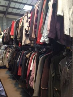 Oxfam's online shop's stock is based at Wastesaver in Huddersfield