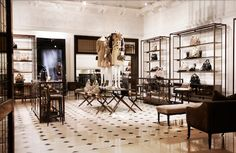 Beautiful flooring in the #Burberry flagship #store in #London