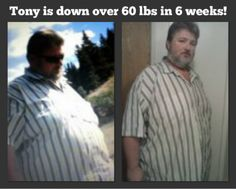 Tony Williams: Down 62 Pounds, 42 Inches, and Still Losing!