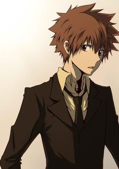 Resultado de imagen para tsunayoshi sawada