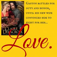 The Crusader's Bride by Claire Delacroix New Wife, Book 1, Champion, Social Media, Romances, Bride, Reading, Words, Memes