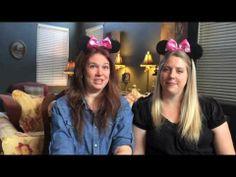 ▶ #DisneySide Disney Sisters Photo Booth Tutorial - YouTube Great ideas here!