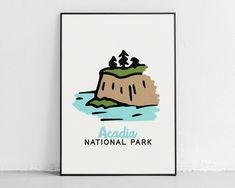 Acadia National Park - Adventure Kids Decor - 20″ × 30″ / CG matt