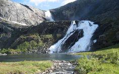 Søtefossen - Husedalen Valley - Hordaland, Norway   ~ It's A Beautiful World - Mother Nature