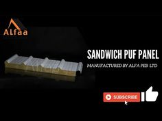 Here you can find the best quality sandwich puf panels with best pricing. Alfa  has continuous Puf Panel manufacturing line. To  serve all the time.  #pufpanel #sandwichpufpanel #alfapebltd #insulatedpanels #coldroomPanels #cleanroompanels Insulated Panels, Sandwiches, Wall, Paninis