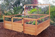 8'x8' Raised Bed Gated Garden Kit