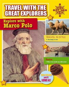 Booktopia has Explore With Marco Polo, Travel With Great Explorers by Tim Cooke. Buy a discounted Paperback of Explore With Marco Polo online from Australia's leading online bookstore. Street Run, Famous Books, Marco Polo, Urdu Novels, China Travel, Travel Style, Ebooks, Teaching, Explore