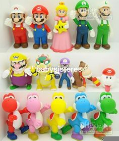 """- Hot!Super Mario Bros 5"""" Fashion Sport & Celebrity Figure   Buy Wholesale On Line Direct from China"""