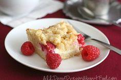 Low Carb Gluten-Free Raspberry Almond Coffee Cake