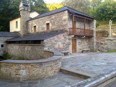 Vilalba, Lugo, Galicia Patio, Mansions, House Styles, Outdoor Decor, Home Decor, Places, Fotografia, Decoration Home, Manor Houses