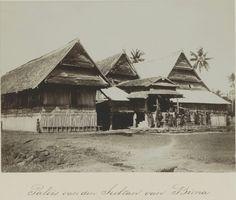 paleis van de Sultan van Bima. 1899-1900