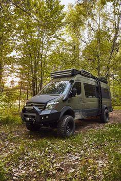 Mercedes Sprinter Camper Van, 4x4 Camper Van, Mercedes Van, 4x4 Van, Ambulance, Pleasure Way, Custom Camper Vans, Sprinter Van Conversion, Der Bus